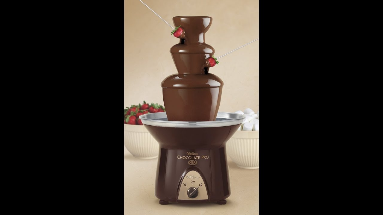 wilton chocolate pro 3-tier chocolate fountain instructions