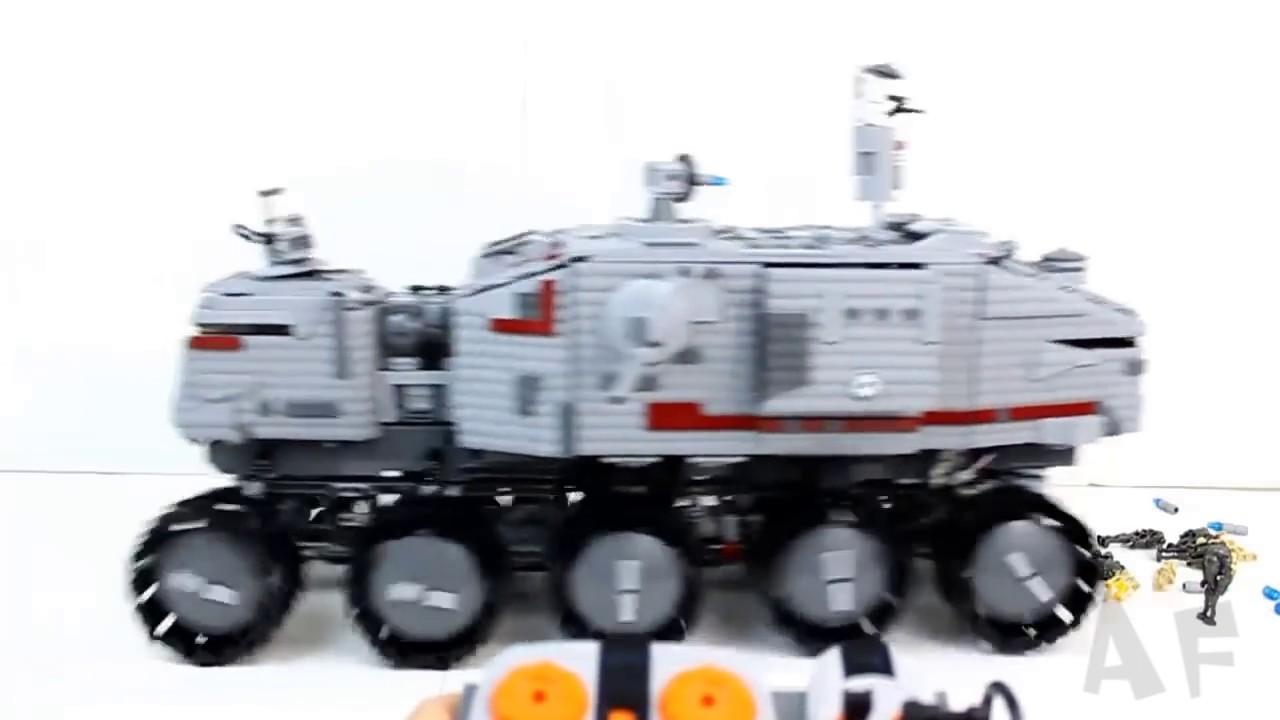 lego clone turbo tank 75151 instructions