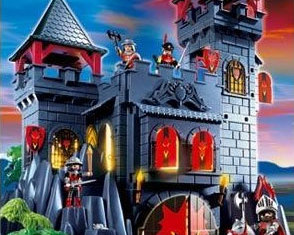 playmobil red dragon castle instructions