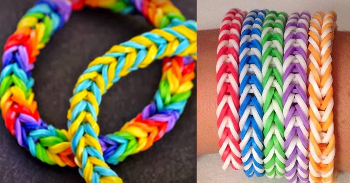 easy string bracelet making instructions