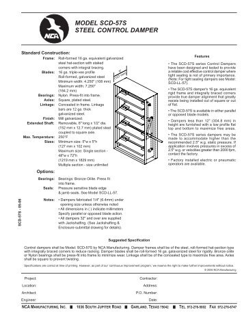 greenheck fire smoke damper installation instructions