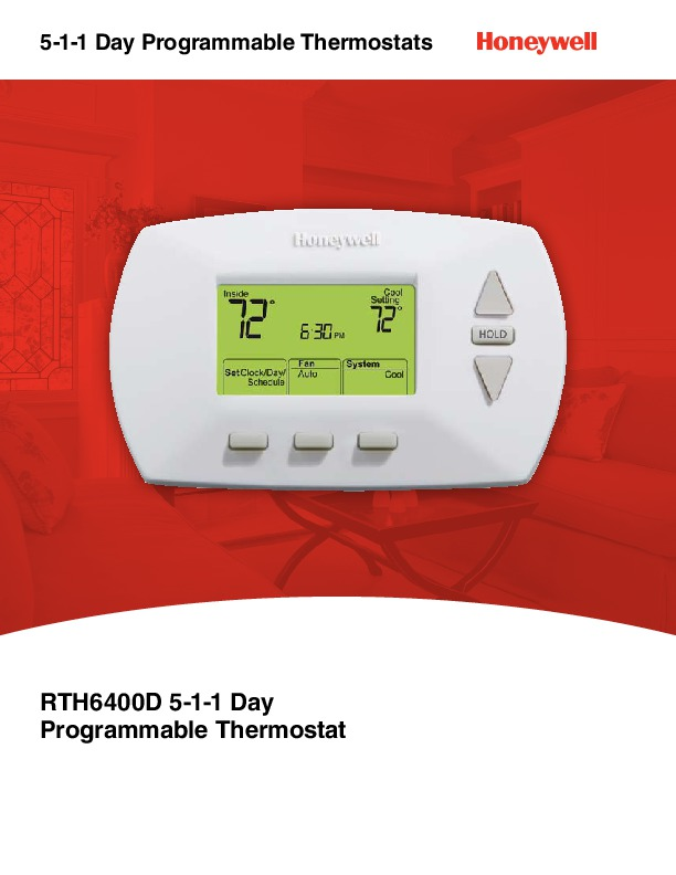 lifebreath programmable thermostat instructions
