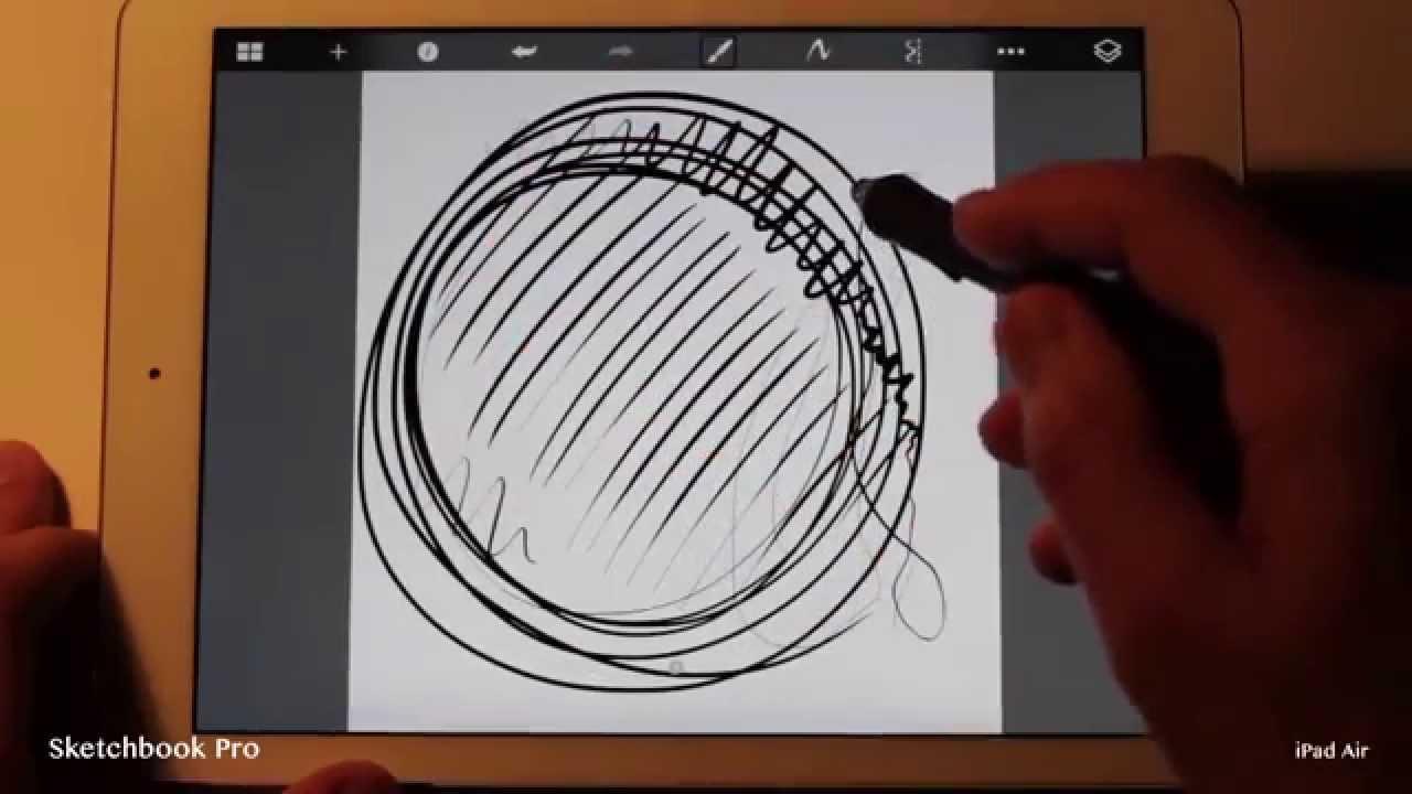 sketchbook pro instructions ipad