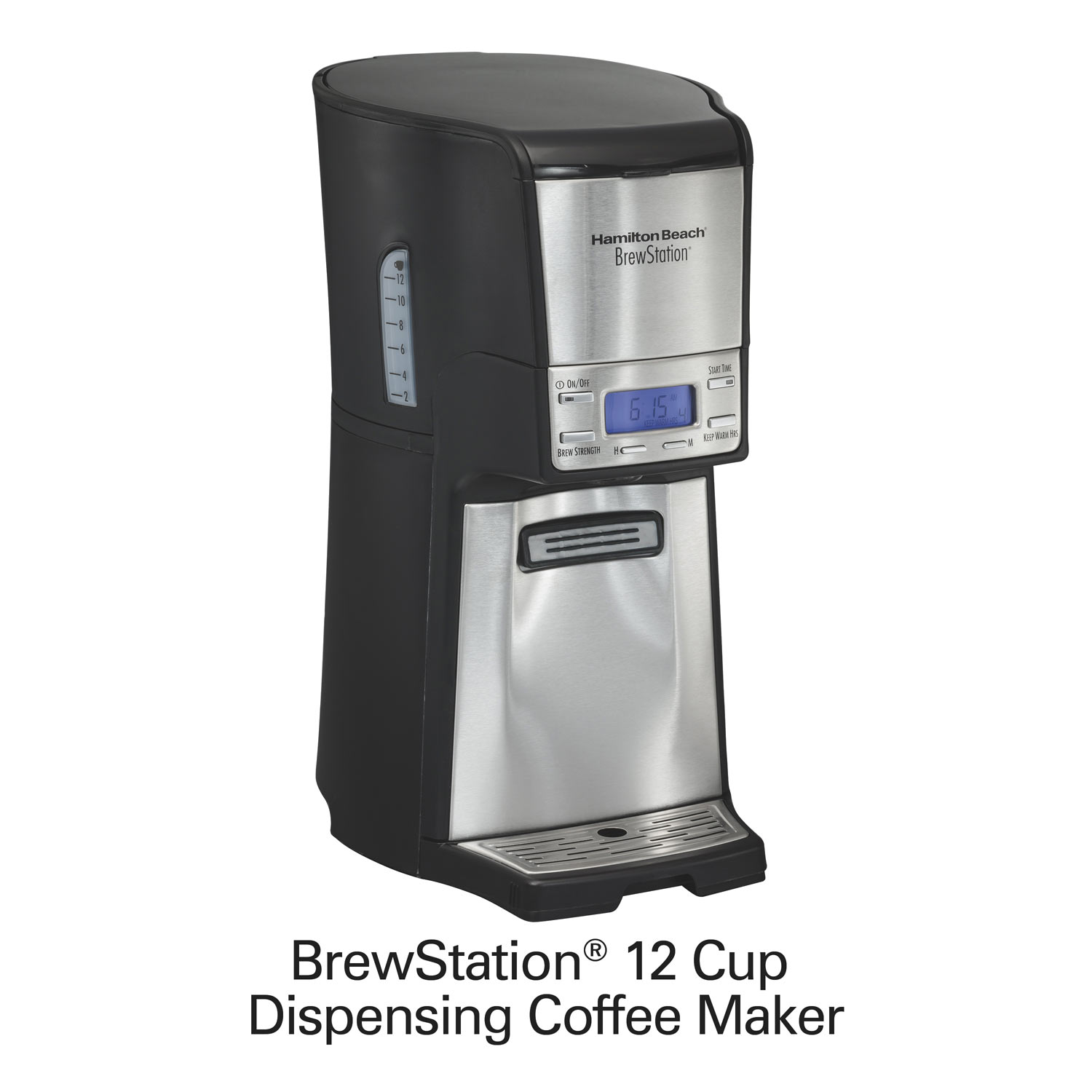 hamilton beach brewstation 12-cup coffee maker instructions