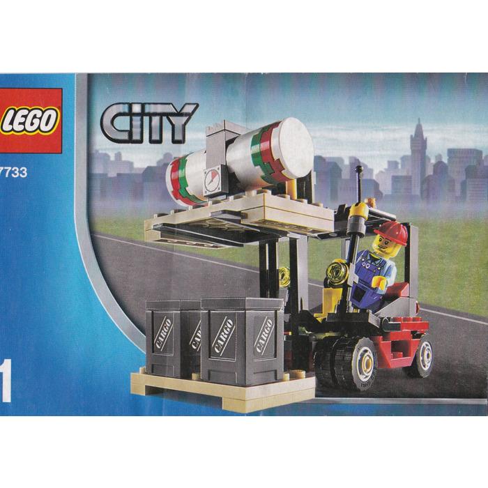 lego cargo truck 7733 instructions
