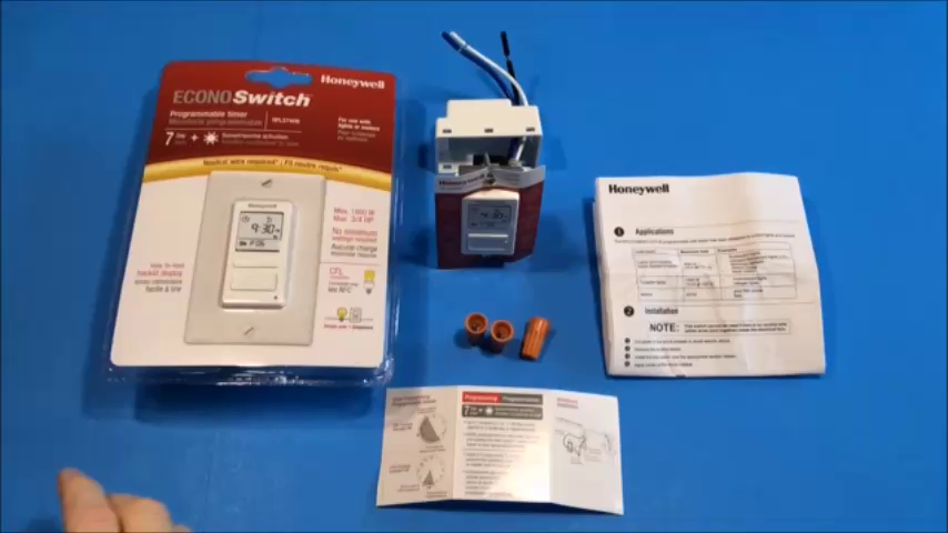 honeywell econoswitch rpls740b1008 instructions for use