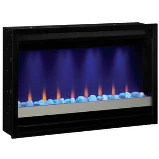 kenna 35 in black wall mount electric fireplace mounting instructions