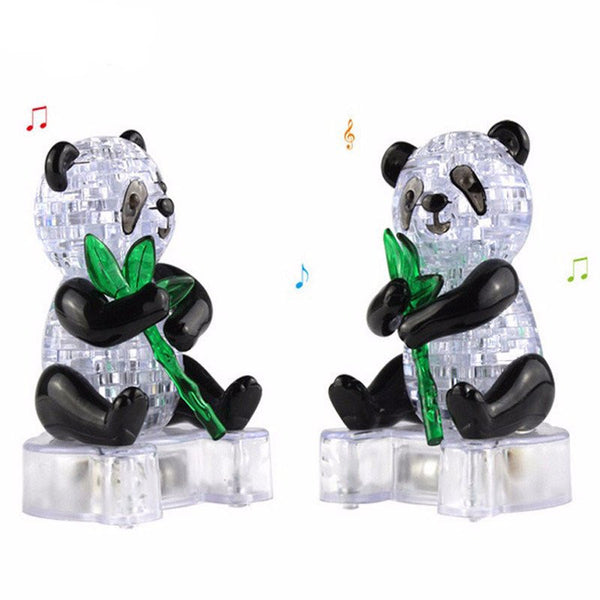 crystal puzzle panda instructions