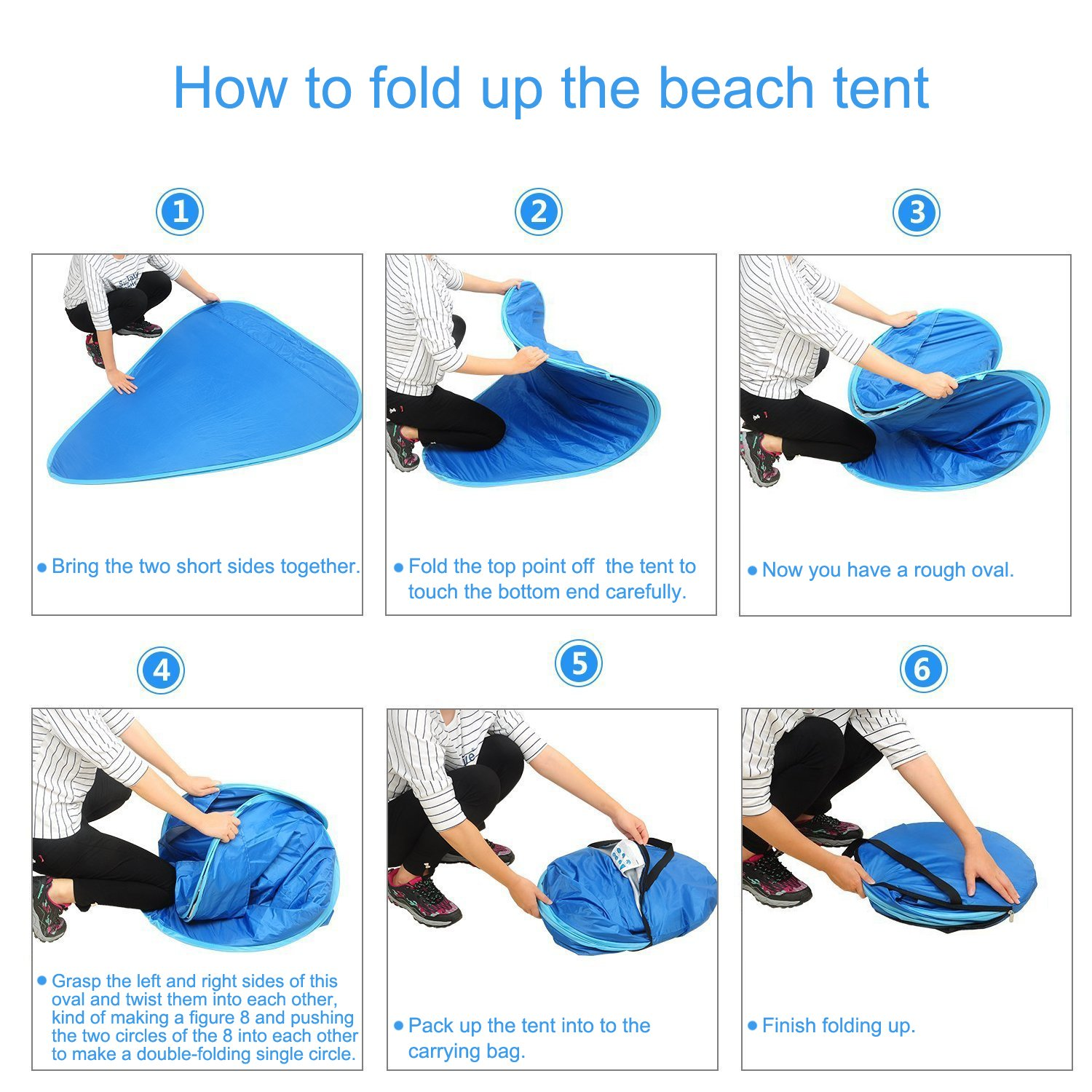 bbluv tent folding instructions