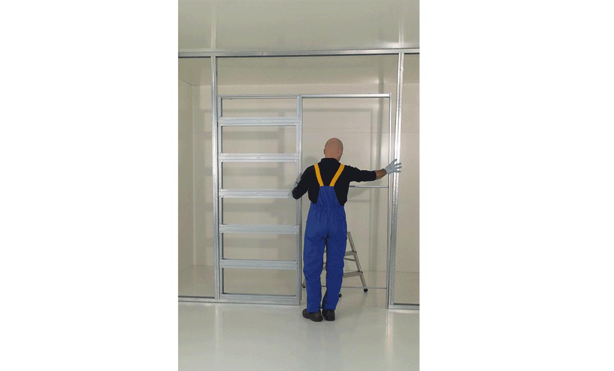 instructions pour installation de porte coulissante