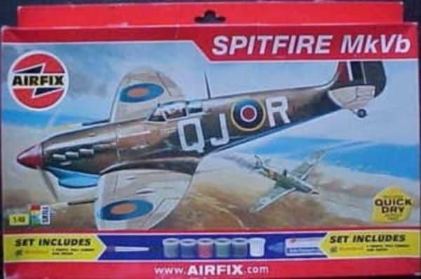 airfix supermarine spitfire mk vb instructions