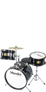 mendini 3-piece 13-inch junior drum set assembly instructions