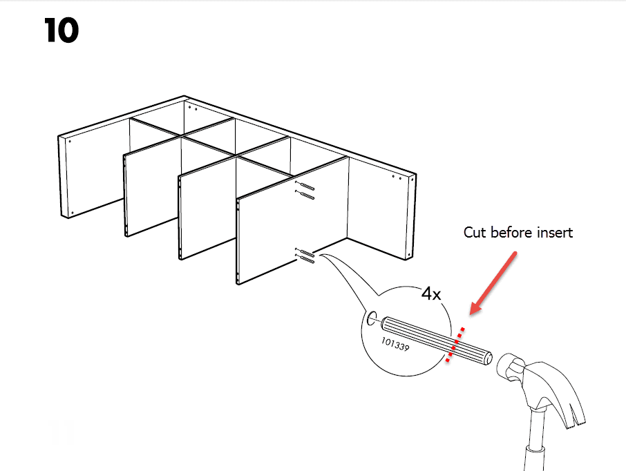 ikea kallax door assembly instructions