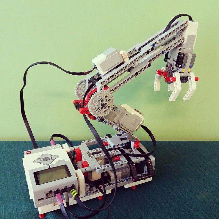 nxt dancing robot building instructions