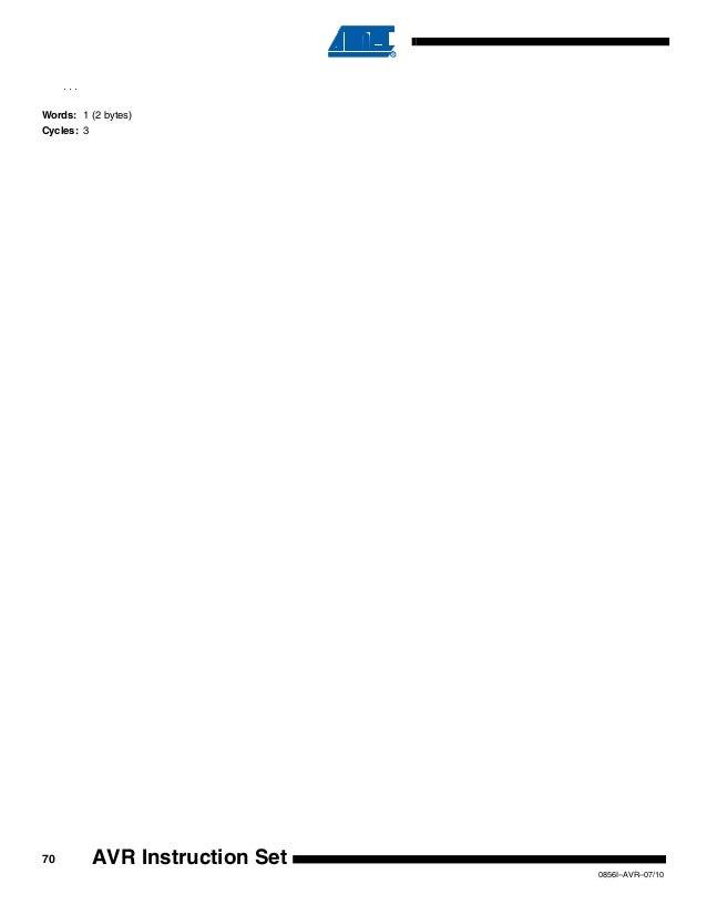89c51 microcontroller instruction set