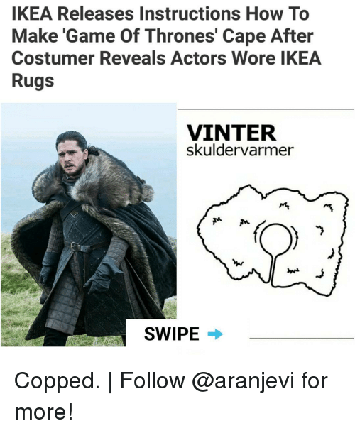 ikea game of thrones instructions