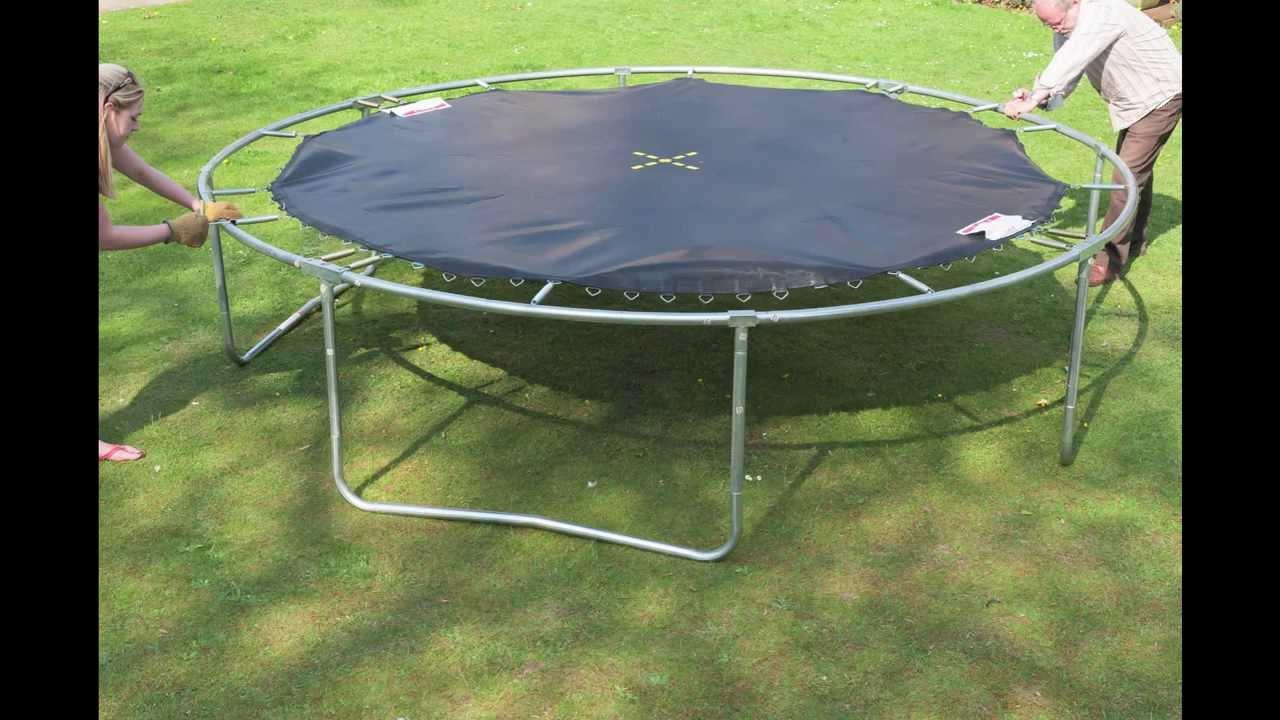 Jumpking trampoline net assembly instructions