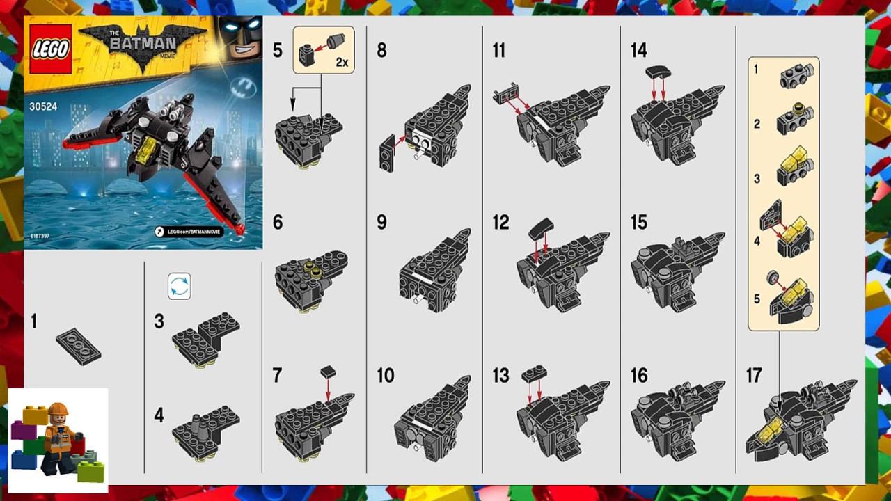lego batman jetpack instructions