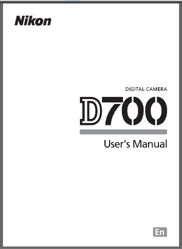 instruction manual cover page