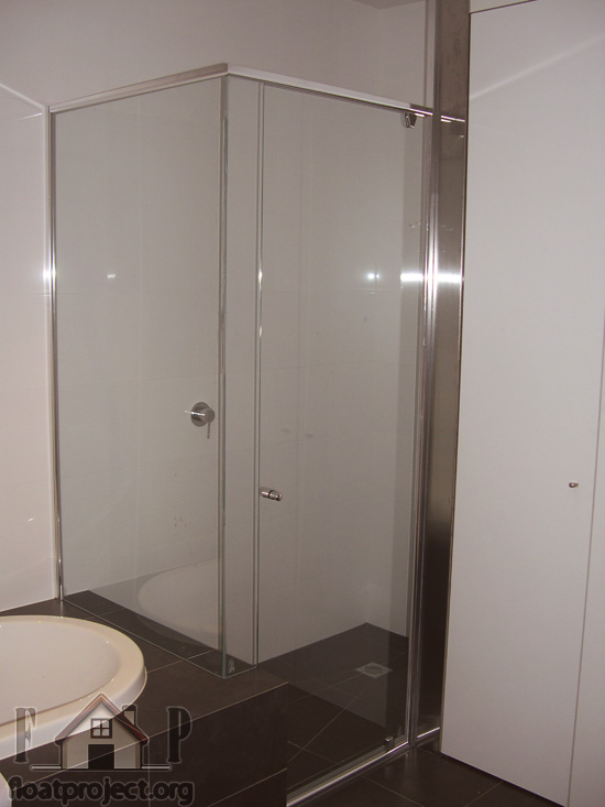 semi frameless shower screen installation instructions