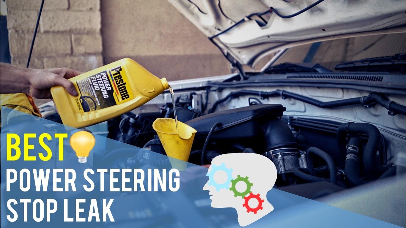 power steering stop leak instructions