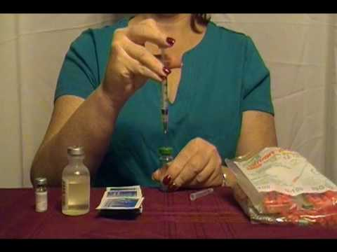 video hcg mixing instructions