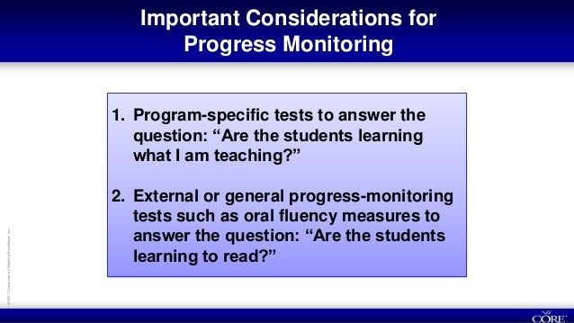 to evaluate student data and create appropriate adjustments to instruction