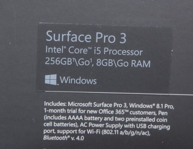 surface pro 1 i5 instructions