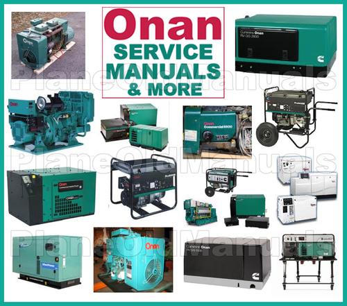 onan generator instructions manual