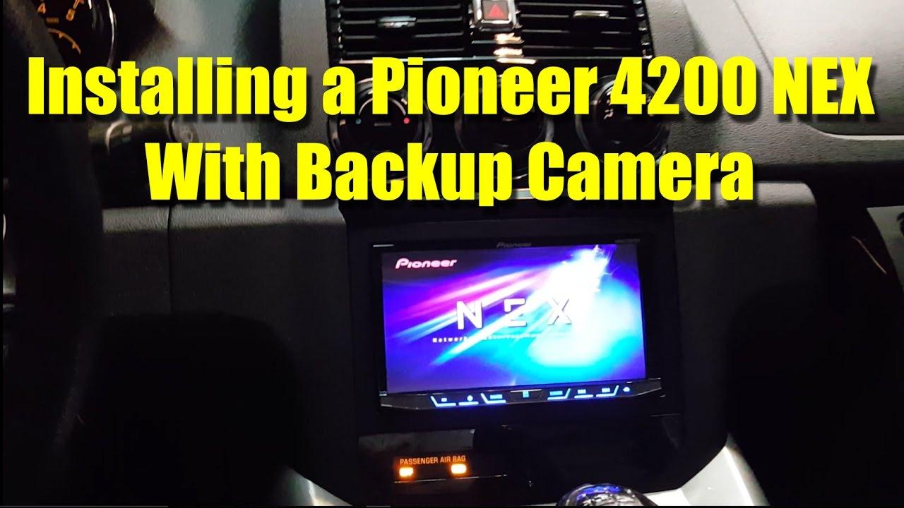 pioneer backup camera installation instructions