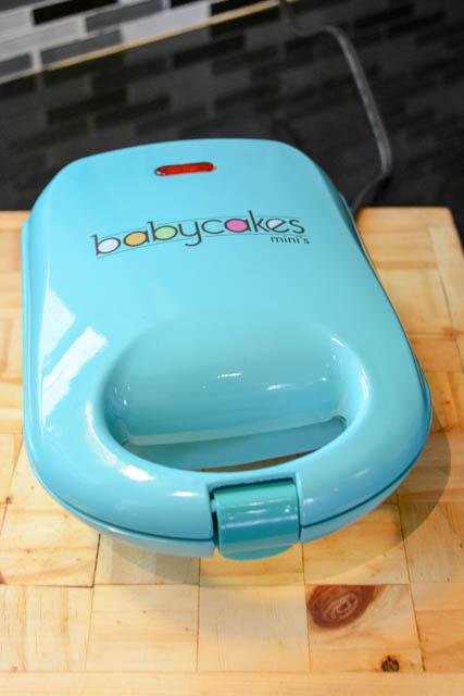 babycakes mini waffle stick maker instructions