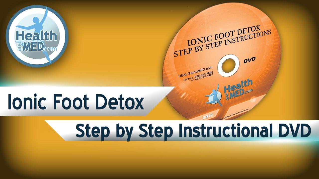 foot detox machine instructions