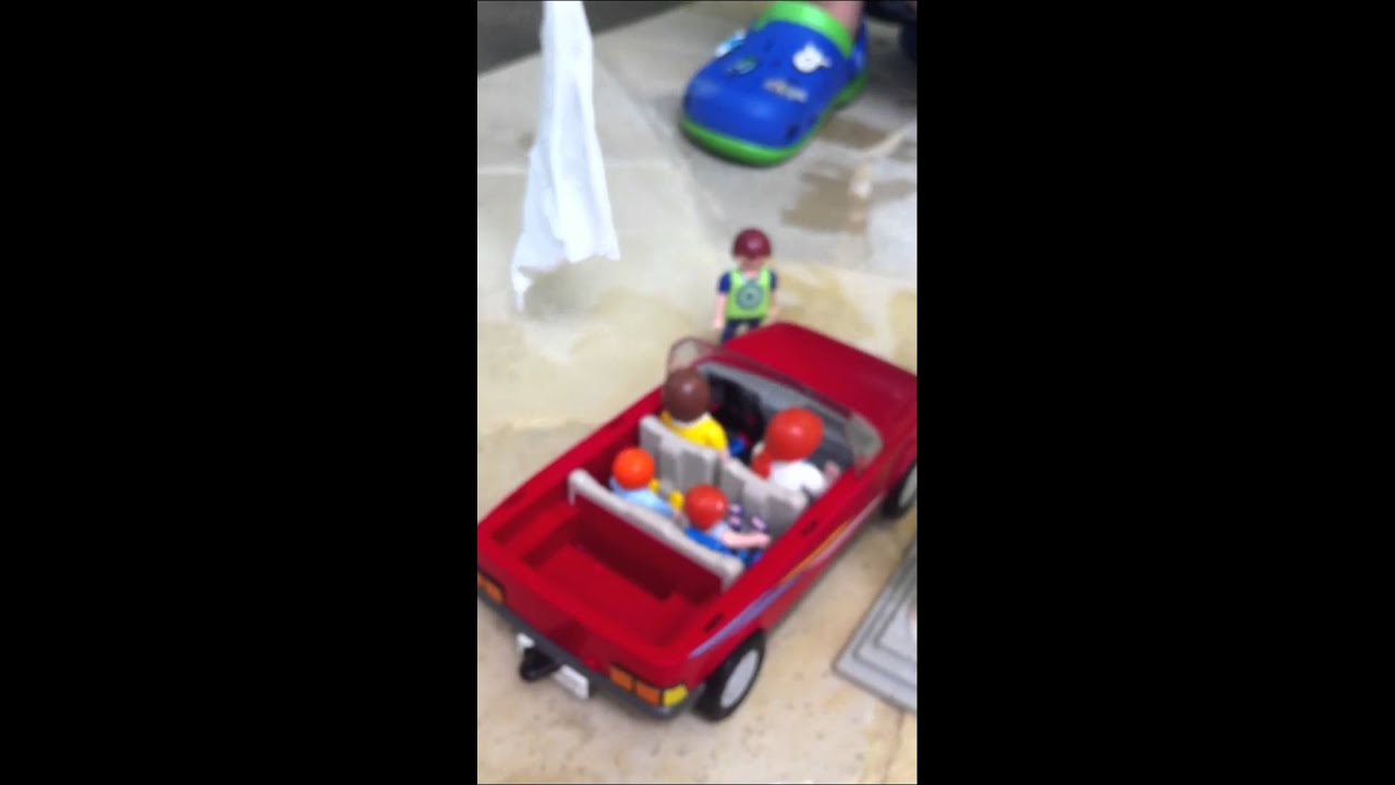 playmobil car wash instructions