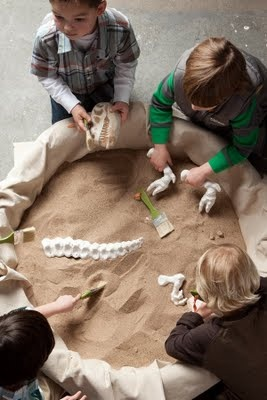 my first sandpit instructions