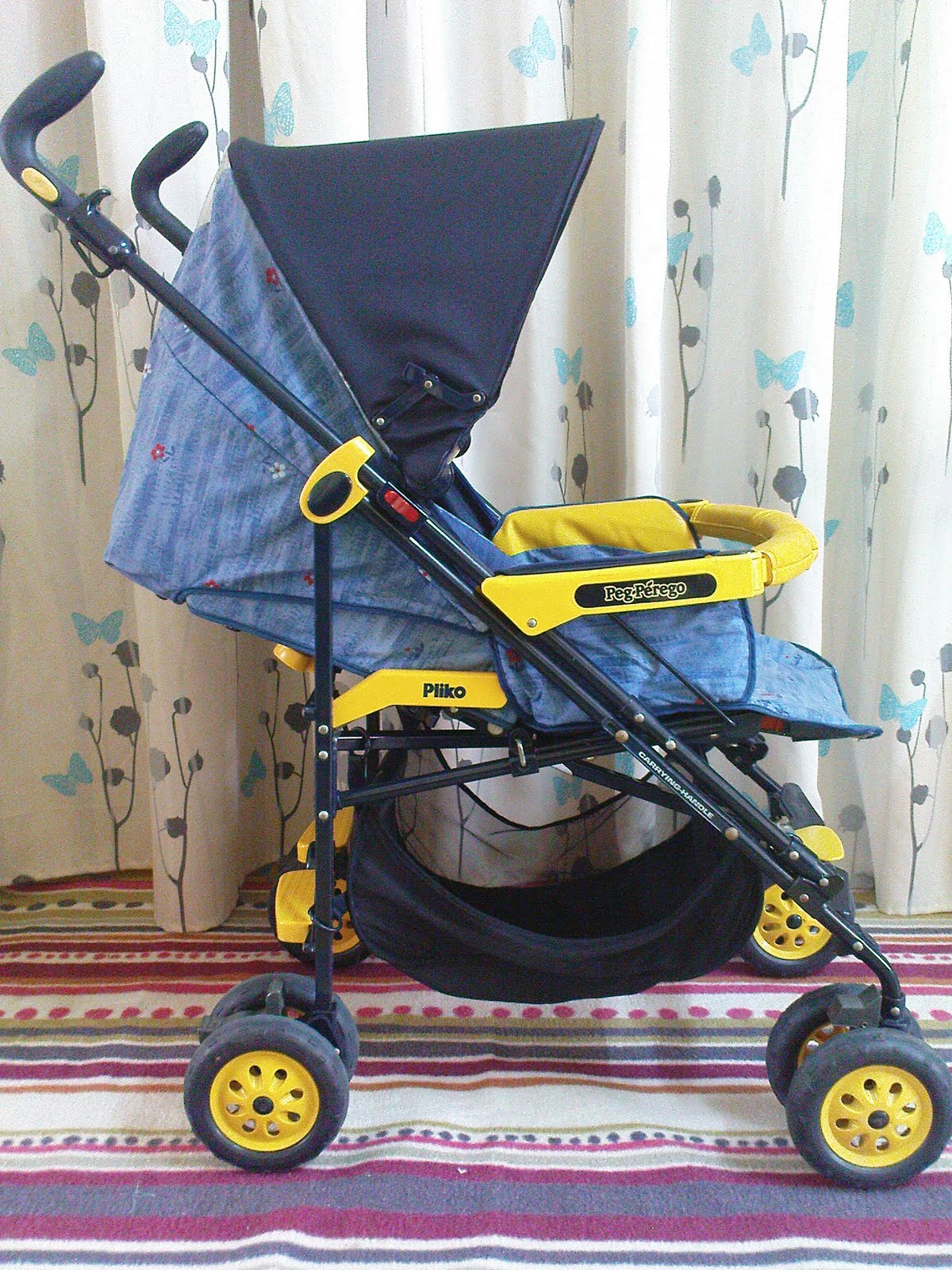 pliko pramette peg perego instructions