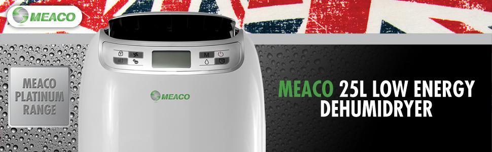 meaco 12l dehumidifier instructions