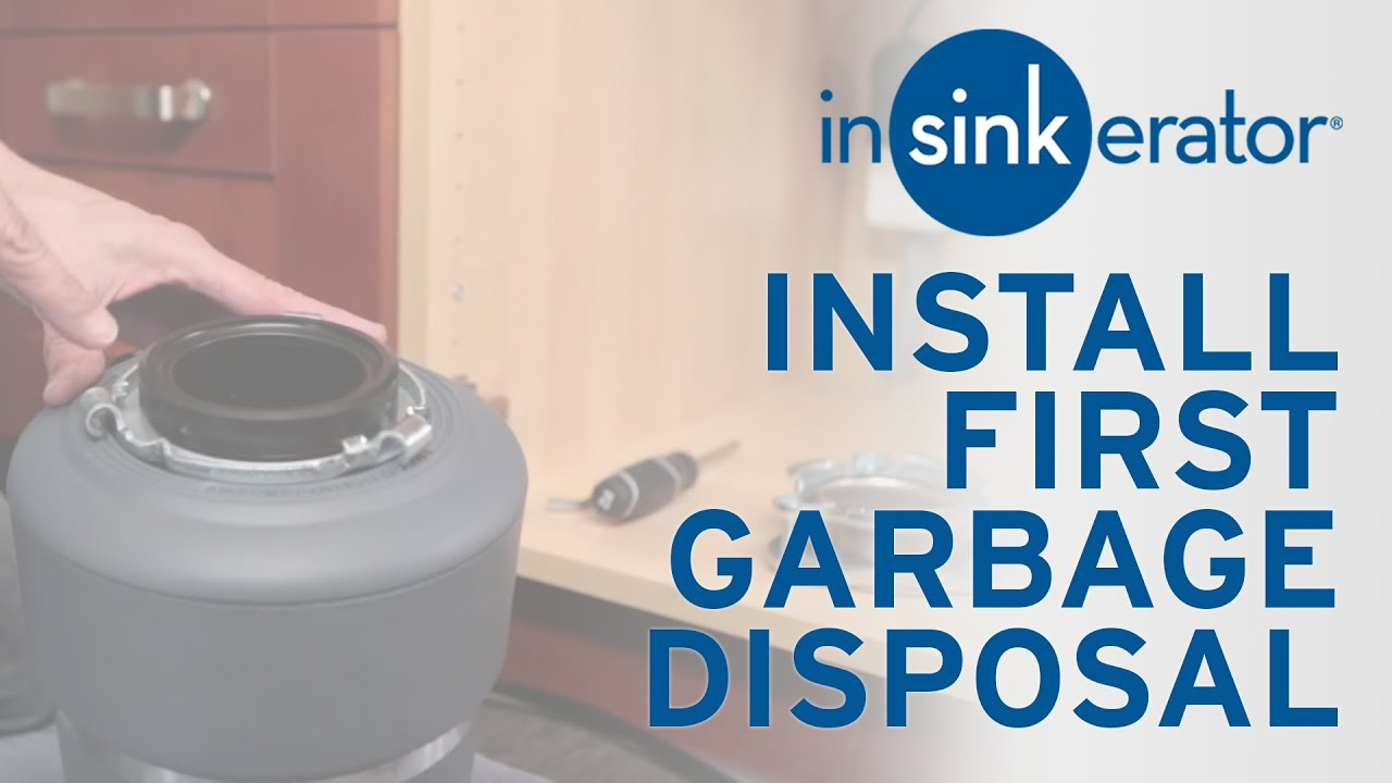 instructions for garbage disposal
