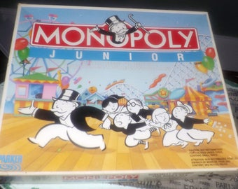 monopoly junior game instructions in french