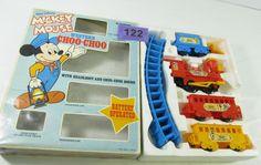 mickey mouse choo choo train instructions