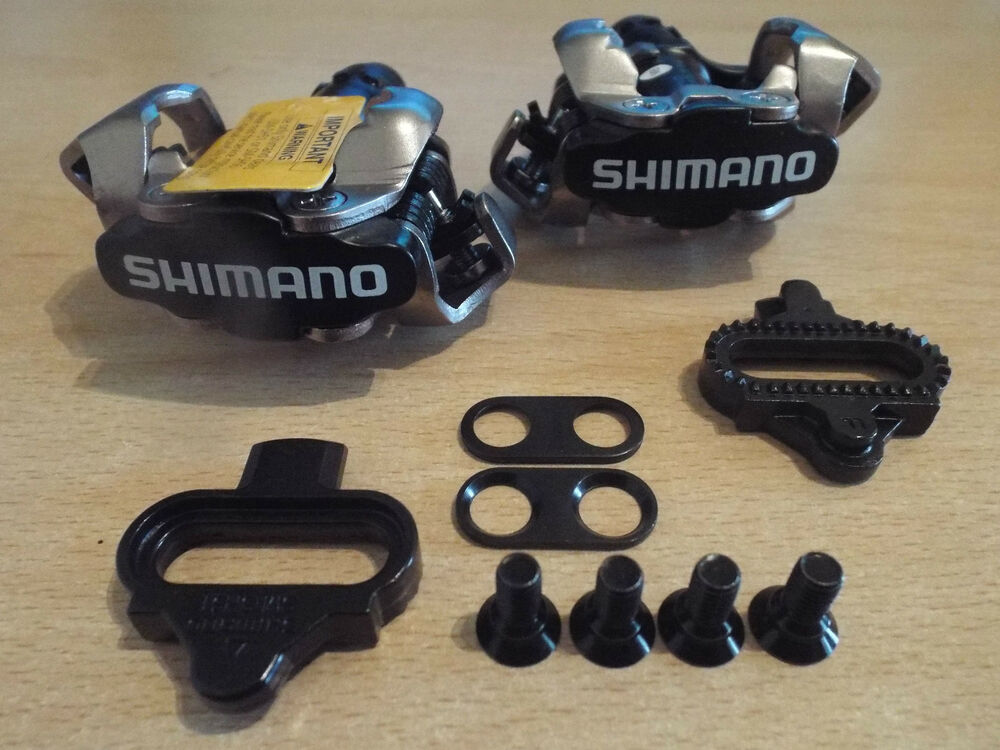 shimano pd-m520 pedals instructions