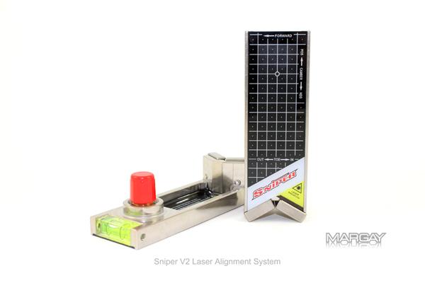 sniper laser alignment instructions