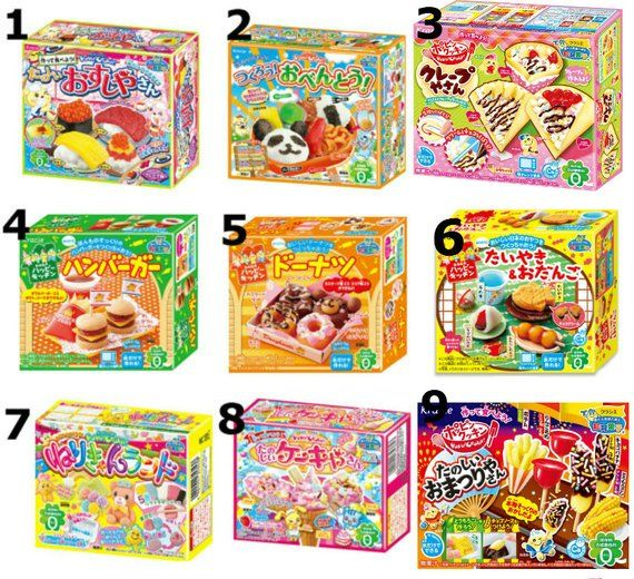 candy sushi kit english instructions