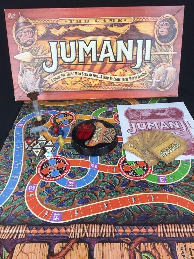 real jumanji board game instructions