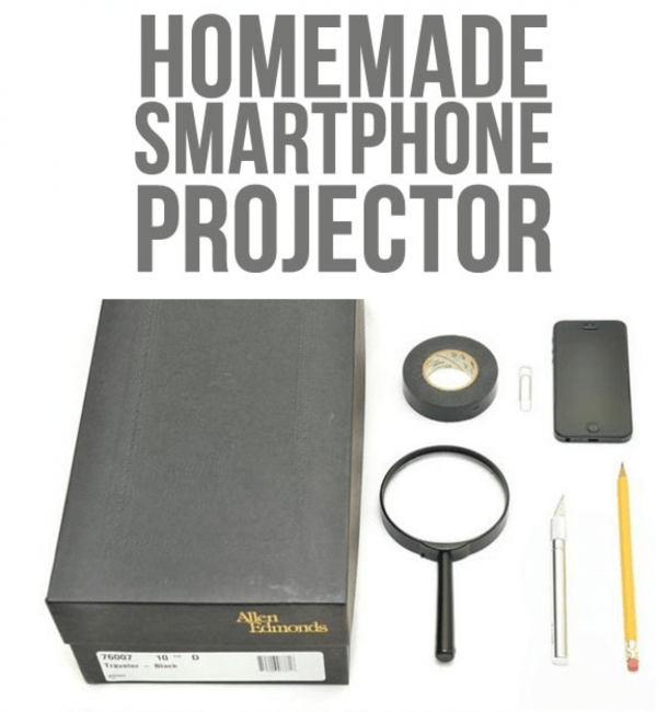 diy smartphone projector instructables