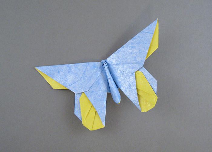 origami luna moth instructions