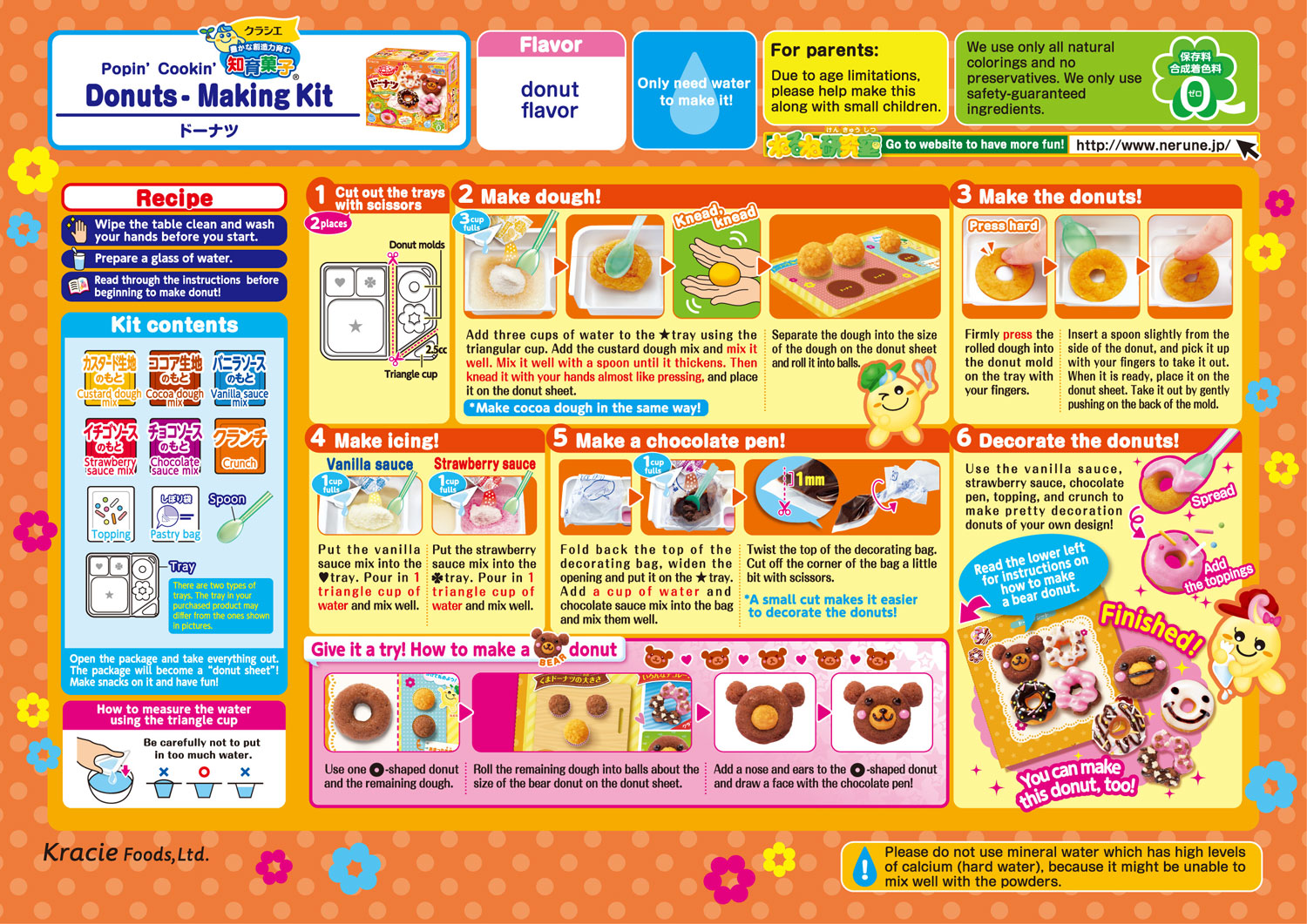 kracie popin cookin english instructions pizza