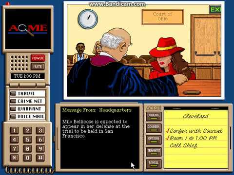 where in the usa is carmen sandiego instructions
