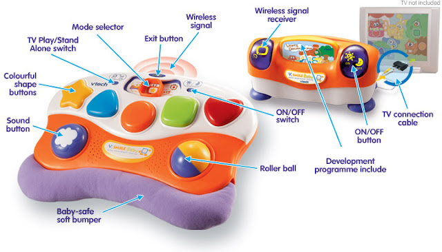 vtech v smile baby infant development system instructions