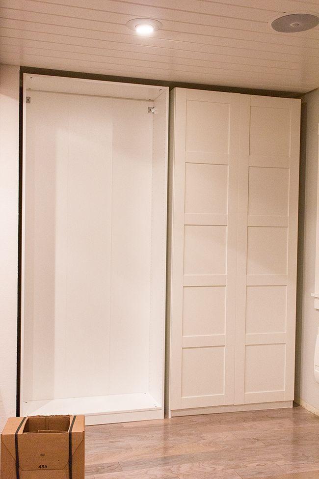 instructions ikea pantry door