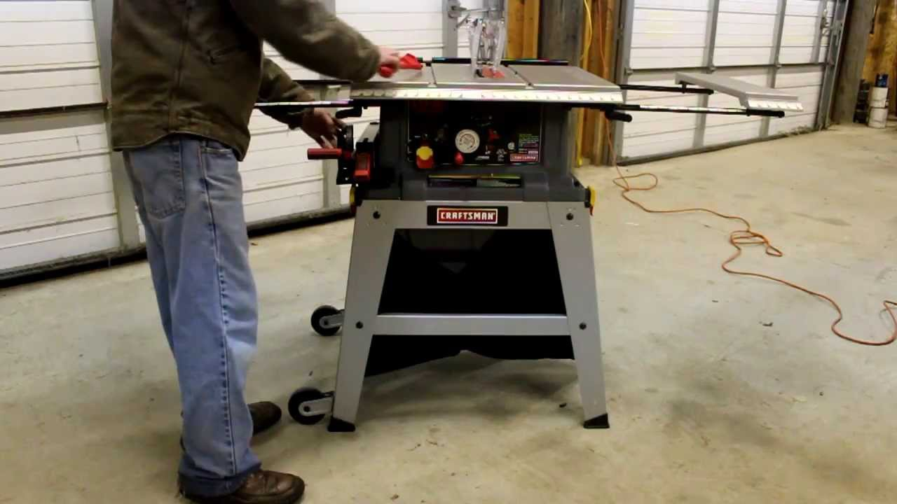 instruction manual assemble rockwell contractor table saw